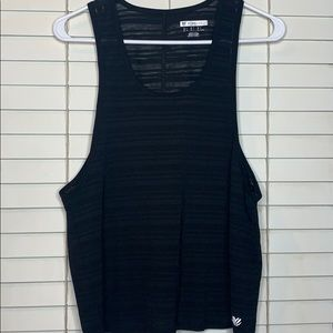 Forever 21 sheer workout tank   Size S